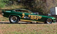 Tweety's Rat Chevy Vega funny car.