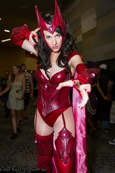 Scarlet Witch #Cosplay | Phoenix Comicon 2014 - Saturday