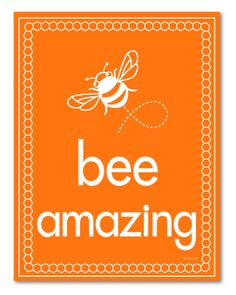 Bee-utiful Bee Prints Packed With Positivity