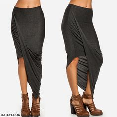 twisted skirt