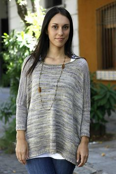 Ravelry: Worsted Boxy pattern by Joji Locatelli. Perfect slouch sweater. Also available in a fingering weight.