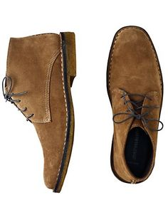 Johnston & Murphy Runnel Suede Chukkas