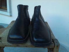Scarpe da uomo Bruschi, taglia 44, colore nero, pelle in vitello morbidissima