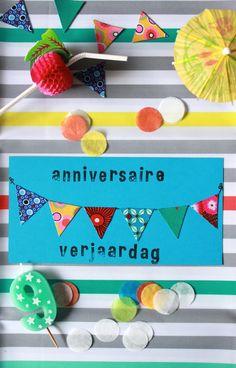 DIY carton d'invitation Foto: Toilylu
