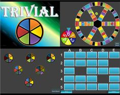 Trivial Pursuit and other great PPT ESL Template games at Waygook
