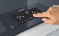 #Siemens #innovation #induction with tft display. // Unsere Innovation vollflächenInduktion mit TFT-Display. #cooking #kitchen #enjoysiemens