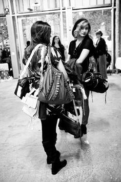 purse organization...