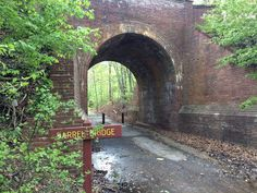 Historic Barrel Bridge, Fairfax Cross County Trail segment 1