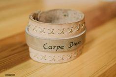Leather unisex bracelet