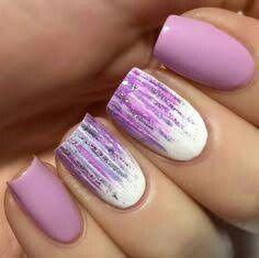 Purple Matte Nail Ideas