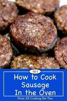 How to cook sausage in the oven. Step by step photo instructions. Great taste, less mess and no work. How To Bake Sausage, Cook Sausage In Oven, Oven Cooked Ribs, Sausages In The Oven, Bacon Sausage, Sausage Recipes, Sausage Spices, Oven Ribs, Sausage Bread
