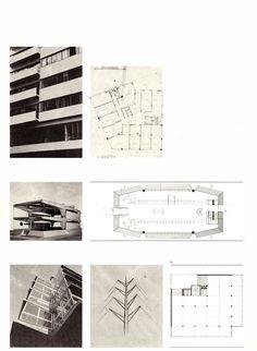 Τάκης Χ. Ζενέτος, 1926-1977 - Takis Ch. Zenetos, 1926-1977 Modern Buildings, Athens, Floor Plans, Architecture, Design, Dioramas, Arquitetura, Architecture Illustrations