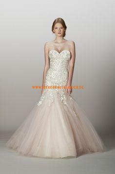 Glamouröse Dramatische Hochzeitskleider aus Softnetz