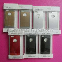 Moshi IGlaze XT Metal Hard Case Cover For IPhone 5 - Fast respon 08111279777