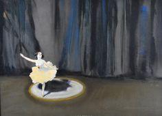 Anna Pavlova · WILLIAM HENRY BARRIBAL Ballet Bar, Ballet Painting, Art Deco Posters, Art For Art Sake, First World, Vintage Art, Sculptures, Drawings, Illustration
