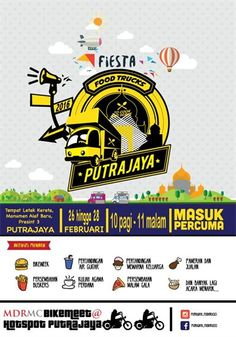 26-28 Feb 2016: Food Trucks Fiesta Putrajaya