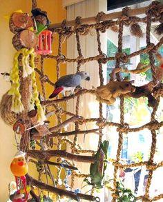 Parrot Climbing Net - Large