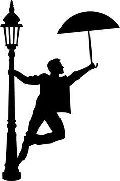 Free Image on Pixabay - Rain, Dancing, Silhouette, Umbrella - Dance Dance Silhouette, Couple Silhouette, Silhouette Painting, Silhouette Drawings, Disney Silhouette Art, Silhouette Images, Woman Silhouette, Art Drawings Sketches Simple, Crayon Art