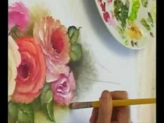 Pintando Flores com Bia Moreira 3 - YouTube