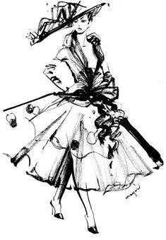 ルブタン氏来日!クリスチャン・ルブタン青山旗艦店 オープニングパーティ|コレクション スケッチ。|ファッション、コレクション最新情報|VOGUE