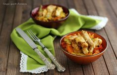 Pollo e verdure al curry