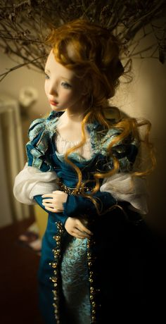 ''Beatrice'' Art doll Ooak by Romantic Wonders Ooak Dolls, Art Dolls, Victorian, Romantic, Dresses, Fashion, Vestidos, Moda, Fashion Styles