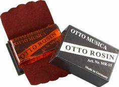 Otto Musica Otto Natural Rosin Regular For Violin/Viola/Cello With Italian Ingredients For violin / viola / cello (For violin / viola / cello) by Otto Musica. $4.99. OTTO natural rosin for VN/VA/VC with Italian ingridients in violin shape.