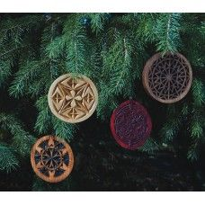 Chip Carved Ornaments by Vance Weidle