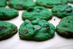 Craziest Green Things People really go crazy for St. Patricks Day... here are some of the many green things people make, eat and wear.