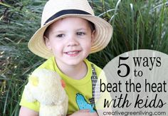 5 ways to beat the heat with kids during the summer
