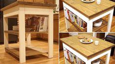 Îlot de cuisine en bois Save By Love Creations