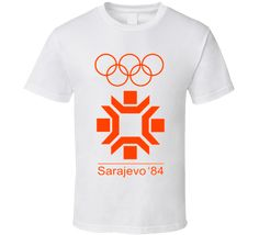Sarajevo 1984 Winter Olympics T Shirt