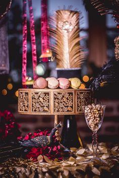 New Year's Eve Masquerade Wedding Inspiration
