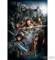 The Hobbit Poster Collage Hier bei www.closeup.de