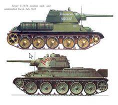 T-34/76 Model 1943.