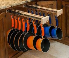 Pot & pan storage