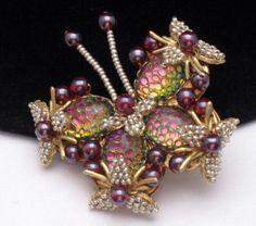 stanley hagler vintage jewelry | ... Brooch Pin Large Vintage Stanley Hagler NYC Watermelon | eBay