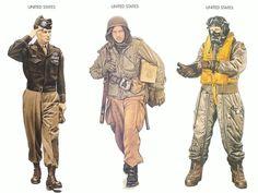 American World War 2: Uniforms