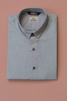 A.D.Deertz - Bamboo Shirt - Blue Shop here: http://temporaryshowroom.de/shop/index.php?label=1