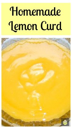 Lovely Homemade Lemon Curd. Great to have on toast, add to cake frosting sweet pies... the uses are endless!