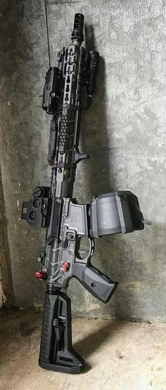 Build Your Sick Cool Custom Assault Rifle Firearm With This Web Interactive Firearm Builder with ALL the Industry Parts - See it yourself before you buy any parts Weapons Guns, Airsoft Guns, Guns And Ammo, Shotguns, Ar Rifle, Custom Guns, Custom Ar15, Battle Rifle, Tactical Rifles