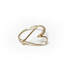 HEART PINKY RING - I´ve just bought it with 40% discount (just for newsletter subscribers!)