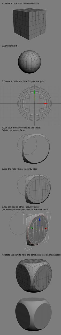 FAQ: How u model dem shapes? Hands-on mini-tuts for mechanical sub-d AKA ADD MORE GEO - Page 40 - Polycount Forum