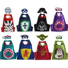 3.65 min 30 70*70cm Kids Cosplay Cape Cloak Star Wars Minecraft Crown Capes Masks Set Double Layer Baby Cosplay Cape Halloween Mask Cape Sexy Adult Costumes Cheerleader Halloween Costume From Xi2015, $2.8| Dhgate.Com