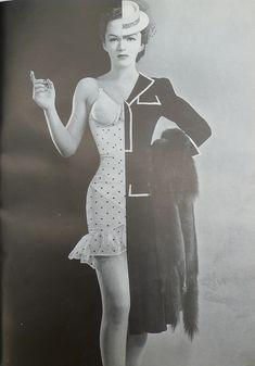 Mainbocher, 1940. Repinned from Vital Outburst clothing vitaloutburst.com