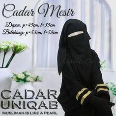 Cadar Mesir   Niqab niqob purdah saudi 3 lapis Uniqab