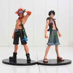 Toys & Hobbies New Mcr Anime One Piece Monkey D Luffy & Shanks Moving Scenes 18cm Pvc Action Collection Figures Model Toys Traveling