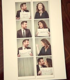 Great idea for a unique DIY wedding invite I can see you & Kyle doing something like this...cute.. we can always incorporate one or more ideas into another one to make your own. :)