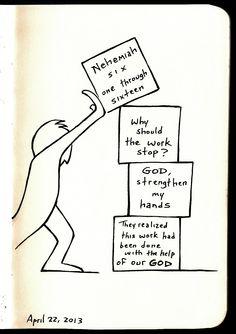 Nehemiah 6:1-16 • Illustrated Devo by Aaron Zenz