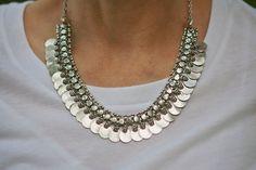 Banjara Moon Metal Necklace by LaMirraFashion on Etsy, $14.40